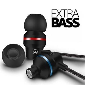 Wired Headset In-ear Earphone Metal Hifi Earbuds Bass Earpieces for Samsung Huawei Xiaomi Phone Ear Phones fone de ouvido MP3(China)