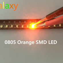 0805 smd led красный желтый зеленый белый синий оранжевый светодиод