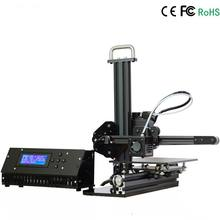 Full Aluminium Mini 3D Printer DIY KIT 150*150*150mm LCD 2004A Cover Box Speed 20-150mm/s School Education Training 3D Printer