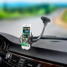 DuDa Car Phone Holder For iPhone X 8 plus 7 6s Samsung S8 Windshield Suction up Mount Stand Support