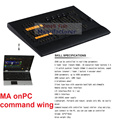 DHL Free Ship 2016 DMX Console Professional Copy GrandMA Grand MA onPC command Wing DMX Lighting Console Stage Audio Club Church