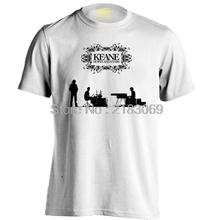 Keane Band Mens & Womens Rock Hip Hop T Shirts Vintage Short Sleeve T Shirt