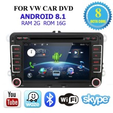 fm automotivo VW/Golf/Tiguan/Skoda/Fabia/Rapid Din