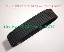 """חדש עדשת זום אחיזת גומי טבעת עבור ניקון AF S DX 18 70 מ""""מ 18 70 מ""""מ f/ 3.5 4.5 גרם IF ED תיקון חלק"""