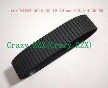 NEUE Objektiv Zoom Grip Gummi Ring Für Nikon AF S DX 18 70mm 18 70mm f/ 3,5 4,5g IF ED Reparatur Teil