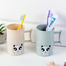 Plastic Cartoon Animal Toothbrush Cup Bathroom Tumbler Mouthwash Travel Holder Home Accessories Rat