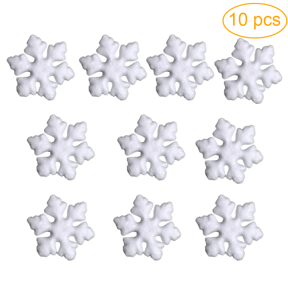 Polystyrene Shape Great for Christmas Decorations Snowflake 7.5cm