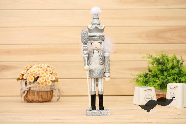 42 cm casse-noisette marionnette bois artisanat 35 cm décoration en bois Vintage décor à la maison décoration de noël - 6