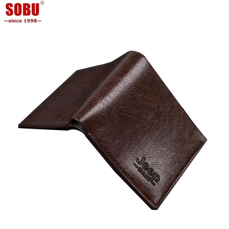 2018 NEW Vintage slim Wallet Handmade Le