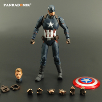 New Captain America Action Figure Super Heroes Avengers Kids Toys Action Toy Figures Collectible Gift Toy
