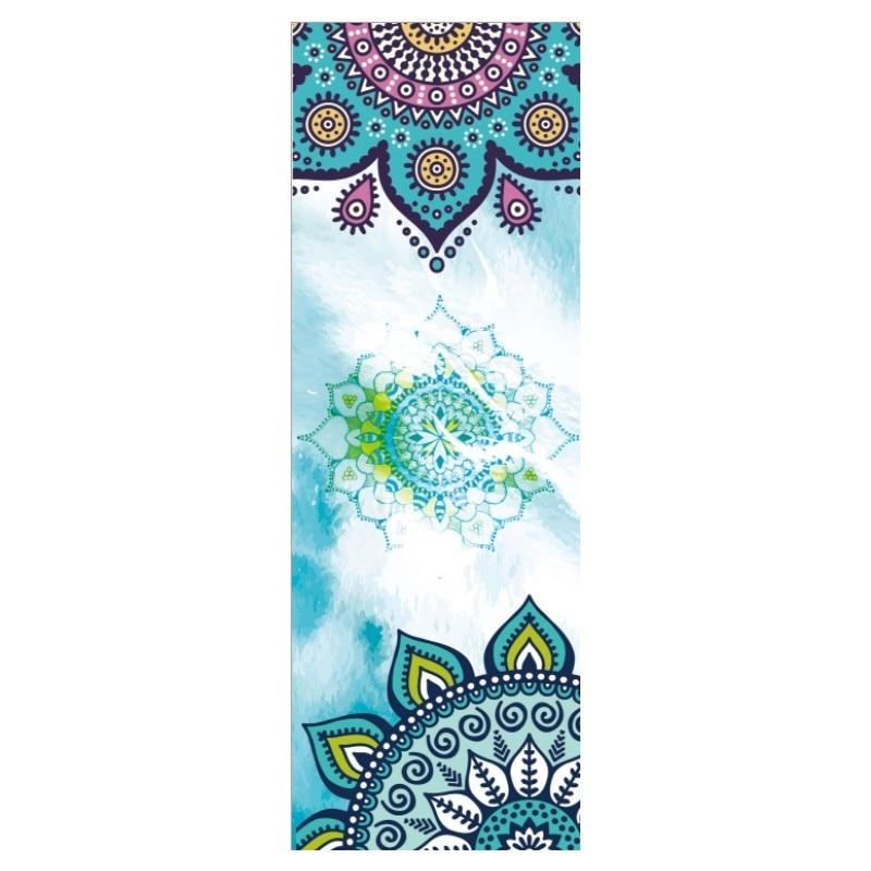 Hermoso patrón de impresión nueva Yoga sudor toalla antideslizante ...