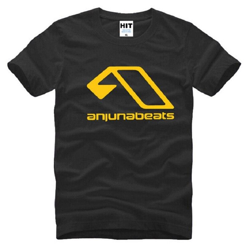 New Summer Above & Beyond Anjunabeats T Shirts Men Cotton Short Sleeve MC Nightclub Mens T-Shirt Fashion Male Music DJ T shirt
