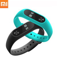 Original Xiaomi Mi Band 2 With Touch-pad OLED Screen Xiaomi Miband 2 Heart Rate Monitor Smart Wristband Intelligent Bracelet