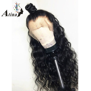 Image 3 - Water Wave 13X6 Lace Front Human Hair Wigs for Black Women Fake Scalp Deep 360 Lace Frontal Wig Remy Closure HD Transparent Lace