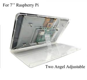Case Adjustment-Stand Raspberry 7inch Display Shell ABS for Pi with Protective-Shell