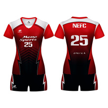 2019 Hot Sale Volleyball Set Uniforme Volei Shorts Breathable Sublimation Camiseta Voleibol Jerseys Shirts