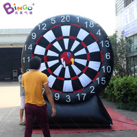 Factory direct sale 2.5X3m Inflatable sticky dart board for dart toss game blow up dart board throwing dart game for kids toys