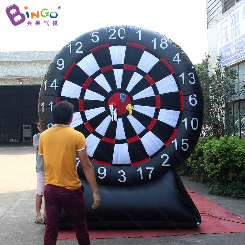 Factory Direct Sale 2.5X3m Inflatable Sticky Dart Board