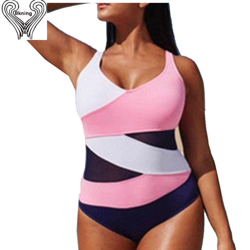 plus size Swimwear female 1 piece swimsuit One Piece Swimwear Women 2016 Mesh Bodysuit Retro tank top Monokini mesh bikini h125 waterprincess women plus size backless one piece swimsuit beach swimwear criss cross back high cut monokini bodysuit bikini