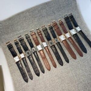 Image 5 - Montre à Quartz en cuir pour hommes, accessoire Sport, bonne qualité pour hommes, unisexe, pour amoureux