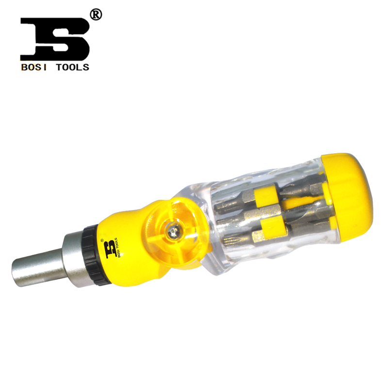 ФОТО BOSI Persian hardware tools more than 13 combinations with Screwdriver Set Screwdriver BS-H3013 genuine special rasp dremel 2016