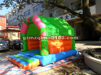 PVC 4 35 X 3 45 M Free Shiping Jumping Bouncer House Inflatable Bouncer Castle Kids