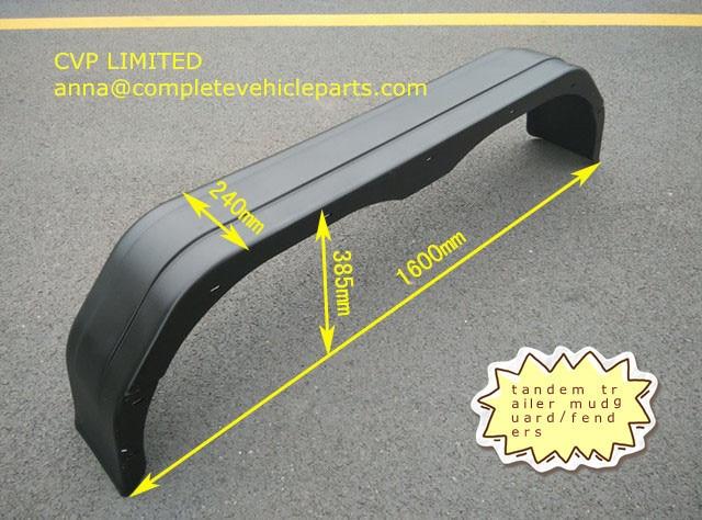 Dually Trailer Fenders : Aliexpress buy trailer plastic tandem mudguards