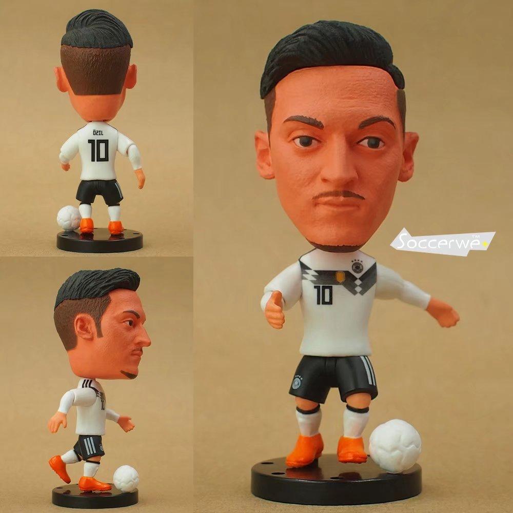 Soccer Player Star 10# OEZIL (DEU-2018) 2.5 Toy Doll Figure