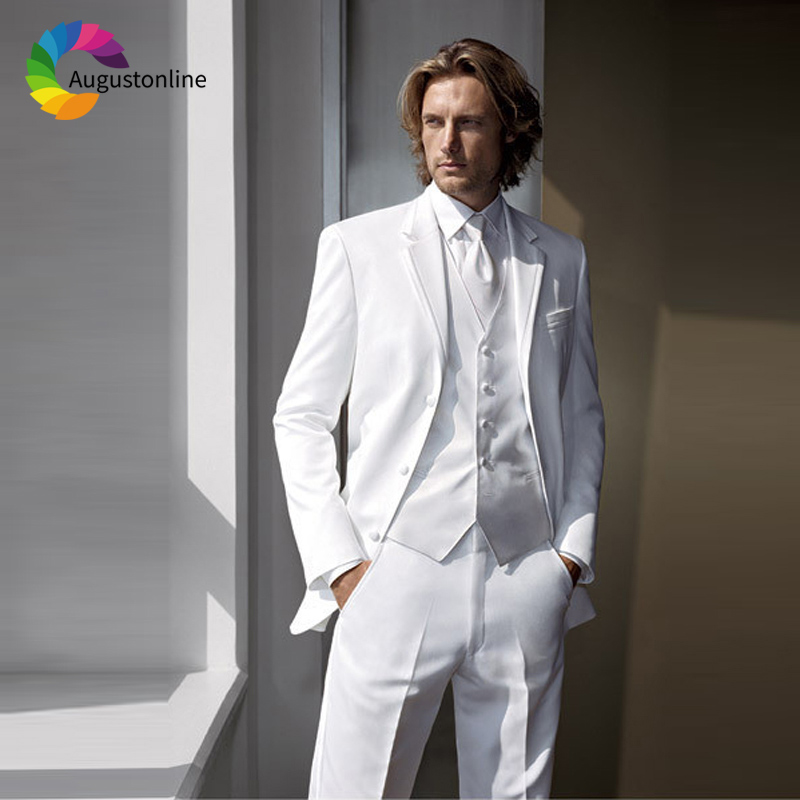 wedding suits white