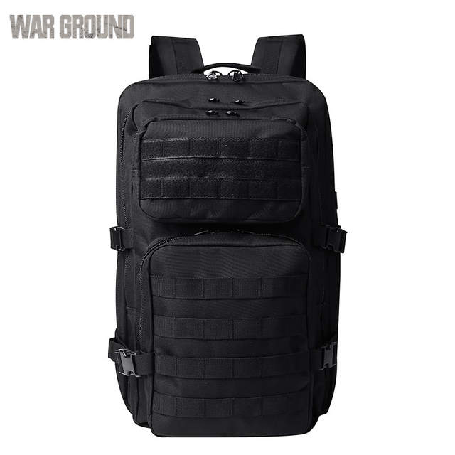 bf347d0011c9 US $39.98 40% OFF|Outdoor sports backpacks army fans tactical packs high  capacity hiking army camouflage packs sports mountaineering packs  cycling-in ...
