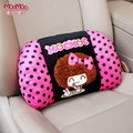 cartoon women's cute Seat support Plush waist pillows for ford bmw toyota volkswagen Neck Auto Safety Pillow women