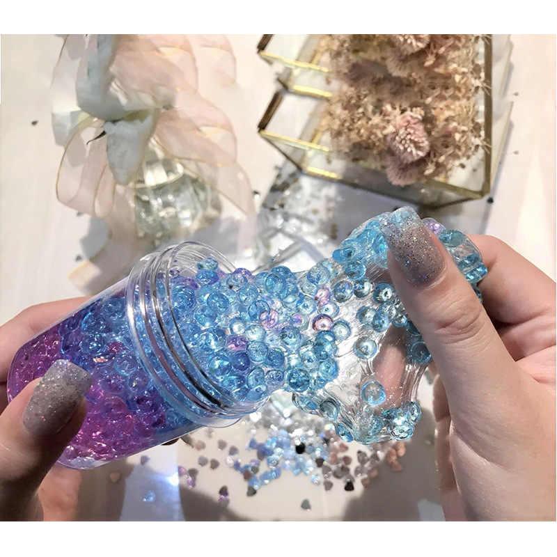 Nuevas cuentas de incienso de espuma mullida de lodo de perlas de gradiente eliminan el estrés juguetes para niños juguetes Anti estrés