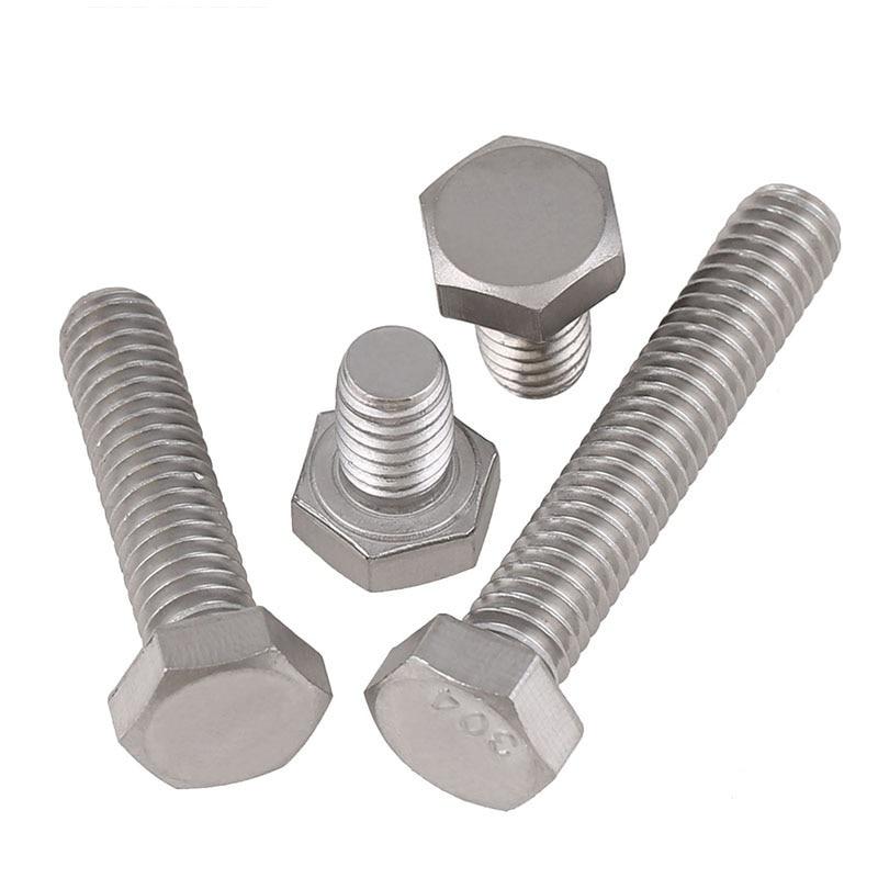 1/4-20*3/8,1/2,5/8...3 Teeth 304 Stainless Steel British Hex Bolts,GB5783 UNC US-made Hex Screws 1 4 20 1 4 20 1 1 4 20 1 1 4 1 1 1 4 304 stainless steel us unc coarse thread bolt hexagon socket pan round button head screw