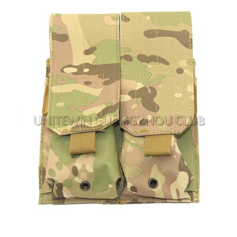 Neue AK AR M4 FAMAS Mag Pouch Taktische MOLLE Doppel Pouch Magazine FAST Military Airsoft Paintball Ausrüstung Multicam CP ACU Camo