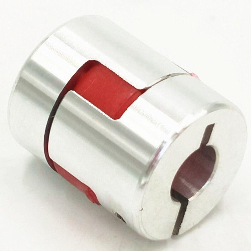 цена  Jaw Flexible Coupling Plum Coupler Diameter=25mm Length=30mm 8mm To 10mm 5/6/6.35/8/9.5/10/12mm  онлайн в 2017 году