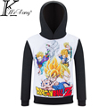 Dragon ball crianças hoodies menino Dos Desenhos Animados crianças camisola primavera outono roupas de bebê menino roupas menino moletom infantil