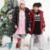 Casacos de inverno Para As Meninas Da Moda Leve Menina Snowsuit Crianças Casacos Casacos Crianças Grandes Para Baixo Casaco Longo Engrossado GH093
