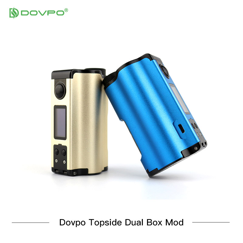 Nova cor dovpo topside dupla superior preenchimento tc squonk mod com 10ml garrafa de cigarros eletrônicos mods vs voopoo arrastar 2/vape mod - 5
