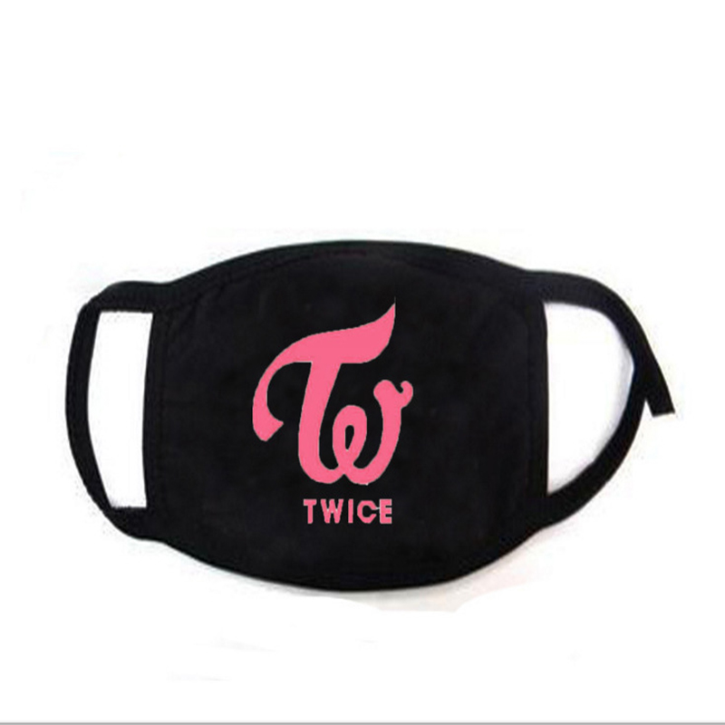 TWICE Logo MOMO  Kpop Fashion Korean Mask Dropshipping