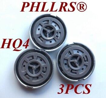 3 κεφαλές ξυραφιών hq4 για ξυριστική μηχανή philips.
