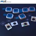 Original Back Camera Lens Cover Replacements for Samsung Galaxy S5 i9600 G900 G9005 G900F G9006V Camera Lens Frame 20PCS