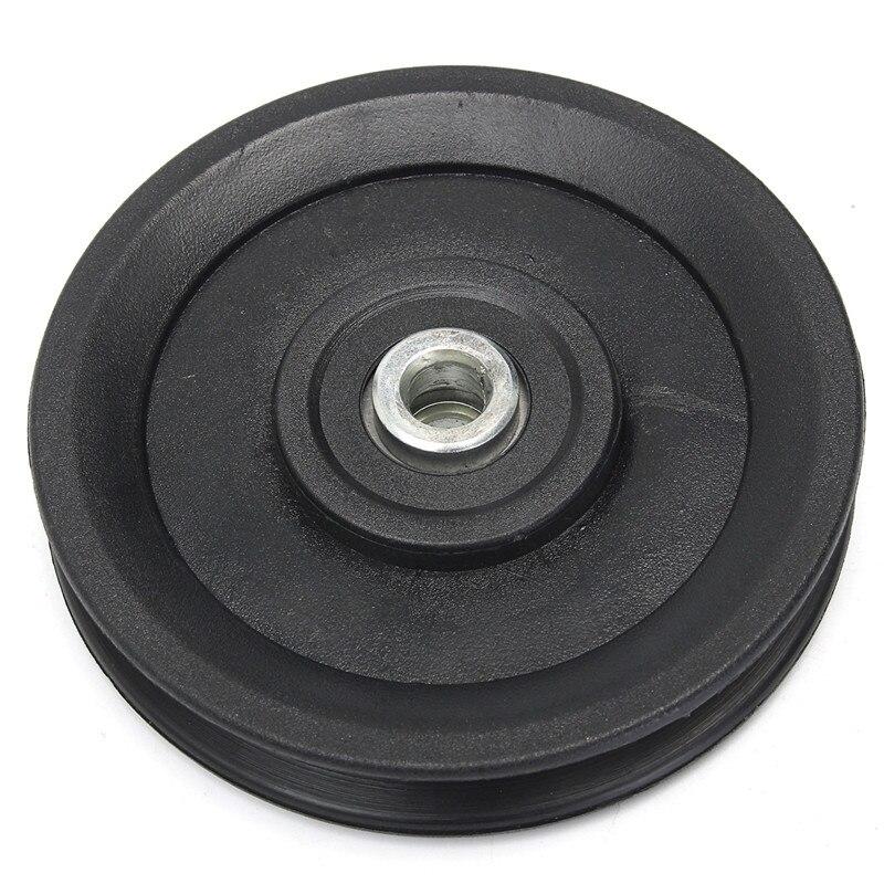 6a61c17f9a2235 Hot Koop 1 st Fitness Sport Nylon Lager Takelwiel Kabel Gym Fitnessapparatuur  Onderdelen Lifting Apparatuur Accessoires 115mm in Hot Koop 1 st Fitness  Sport ...