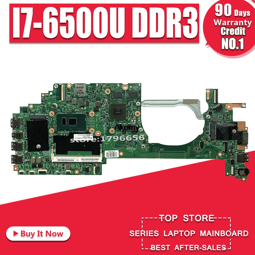 For Lenovo ThinkPad Yoga 460 P40 Laptop Motherboard I7-6500U CPU DDR3 01HY690 448.05106.0021 14283-2 100% Fully Tested