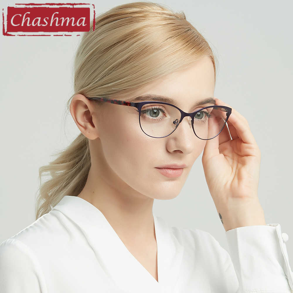 aa3e531b246 ... Chashma 2018 New Cat Eyes Style Glasses Women Top Quality Female  Optical Glasses Frames Eyewear Fashion ...