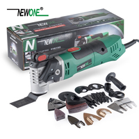 NEWONE 220V Quick Release Variable Speed Electric Multifunction Oscillating Tool Kit Multi Tool Power Tool Electric Trimmer