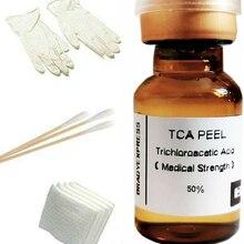 2 мл 50% TCA набор для удаления кожуры кожи, возрастные пятна, родимые пятна и многое другое