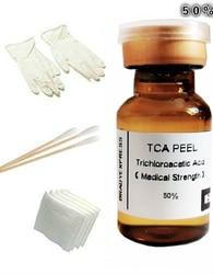 2 Ml 50% Tca Huid Schil Kit Verwijdert Skin Tags, Ouderdomsvlekken, Moedervlekken & Meer! Gratis Verzending
