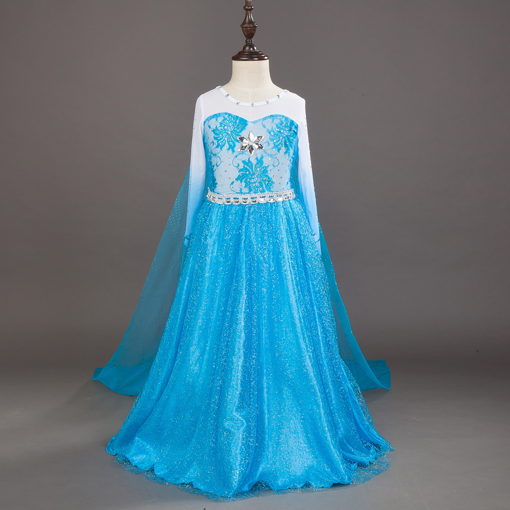 HOT///3 8 Years Old Girls Dresses Princess Children Clothing High ...