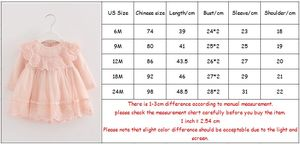 Image 5 - girls wedding dress pearls lace baby girls christening dresses for party kids baby girls birthday dress ball gown 0 2Y Pink blue