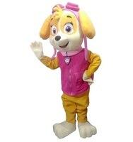 2017 Prawdziwe zdjęcia Psów Dorosłych Maskotki Kostium minion maskotka pies Patrol patrol Przyjazd Maskotki Kostium darmowa wysyłka